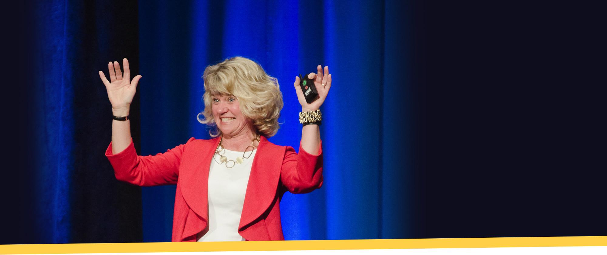 Patty Hendrickson Keynote Speaker - Background
